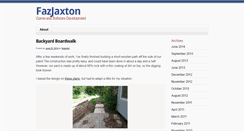Preview of fazjaxton.net